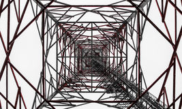 Radioturm in Finnland stockfotos