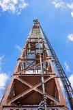 Radioturm mit Antennen Lizenzfreies Stockbild