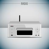radiovektor royaltyfri illustrationer