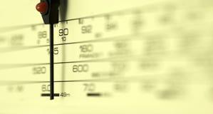 Radiovorwahlknopf Lizenzfreie Stockbilder