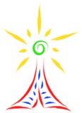 Radiowa antena royalty ilustracja