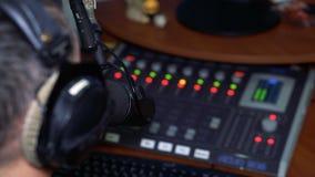 Radiowa osobowość DJ na powietrzu zdjęcie wideo