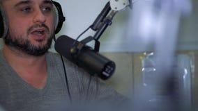 Radiowa osobowość DJ na powietrzu zbiory