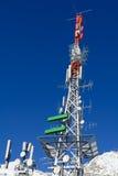 Radiowe anteny Zdjęcia Royalty Free