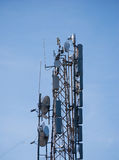Radiowe bezprzewodowe anteny Obrazy Royalty Free