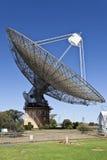 Radiowego teleskopu naczynie w Parkes, Australia Fotografia Stock