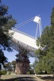 Radiowego teleskopu naczynie w Parkes, Australia Zdjęcia Stock