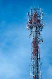 radiowy anteny wierza fotografia stock