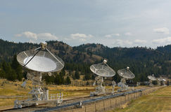 Radiowy Astrofizyczny obserwatorium Obrazy Royalty Free