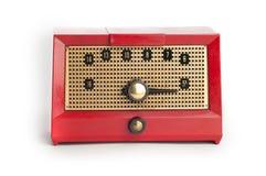 radiowy czerwony rocznik Zdjęcia Stock