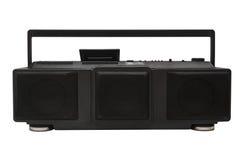 Radiowy kasety stereo z trzy mówcami Obrazy Stock