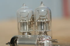 Radiowy lampowy amplifikator probówki elektronicznej próżni Obrazy Stock