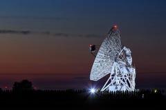 Radiowy obserwatorium Zdjęcie Stock
