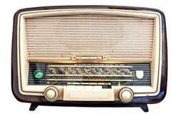 radiowy odbiorca Obrazy Royalty Free