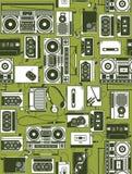 radiowy retro Zdjęcie Royalty Free