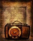 radiowy retro royalty ilustracja