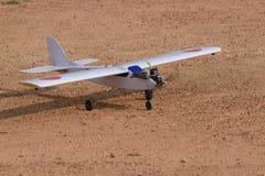 Radiowy samolot fotografia stock