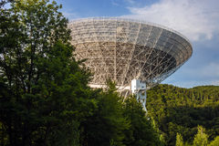 Radiowy teleskop Effelsberg Obrazy Stock