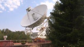 Radiowy teleskop słucha przestrzeń zdjęcie wideo