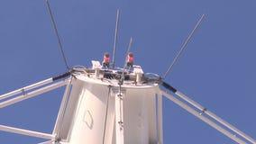 Radiowy teleskop słucha przestrzeń zbiory wideo