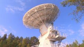 Radiowy teleskop słucha przestrzeń zbiory