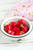 Radish. Fresh radish in a white bowl Stock Photography