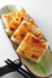 Radish cake. Chinese radish cake dim sum royalty free stock photos