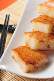 Radish cake Royalty Free Stock Photo