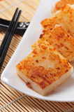 Radish Cake Royalty Free Stock Photography