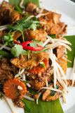 Radish Cake Thai Food Dish Royalty Free Stock Image