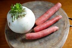 Radish and carrots Stock Photo