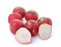Radish isolated on white background. Fresh radish isolated on white background Royalty Free Stock Image