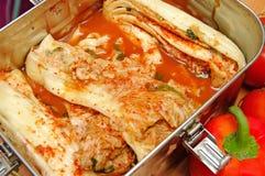 Radish kimchi , Stock Photo