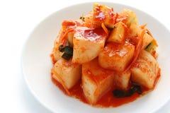 Radish kimchi , korean food Stock Images