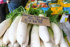 Radish in market, malaysia. This is radish in market, malaysia Royalty Free Stock Images