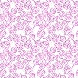 Radish pattern. Beetroot Royalty Free Stock Photo