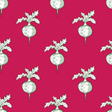 Radish Pattern Royalty Free Stock Photo