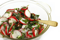 Radish salad Royalty Free Stock Photo