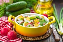 Radish salad Stock Photo