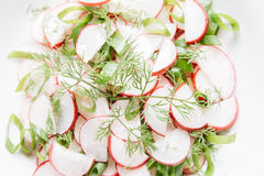 Radish salad Stock Photo