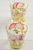 Radish salad Stock Images