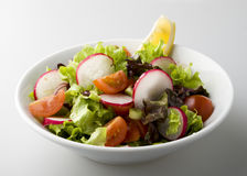 Radish salat Royalty Free Stock Images