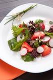 Radish Strawberry salad Stock Images