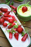 Radishes as a light snack Royalty Free Stock Photo