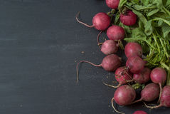 Radishes on the table Royalty Free Stock Photo
