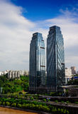 Radisson BLÅ plaza på Chongqing Arkivfoton