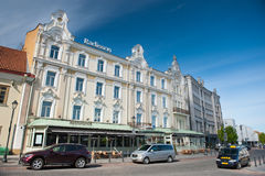 Radisson Blu Astorija Hotel in Vilnius, Lithuania Stock Photo