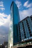 Radisson Blu Hotel sul circo di Holloway, centro urbano di Birmingham, Regno Unito fotografia stock