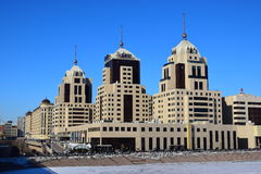 The RADISSON hotel in Astana Royalty Free Stock Photography