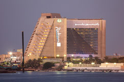 Radisson Hotel in Sharjah Royalty Free Stock Images